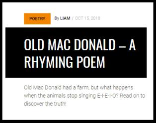Old Mac Donald Link